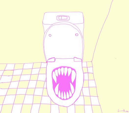 toiletF
